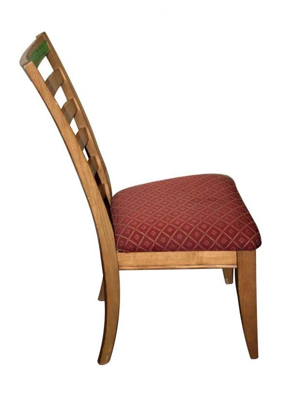 Seating - Vintage Maple Slatted Back Chair