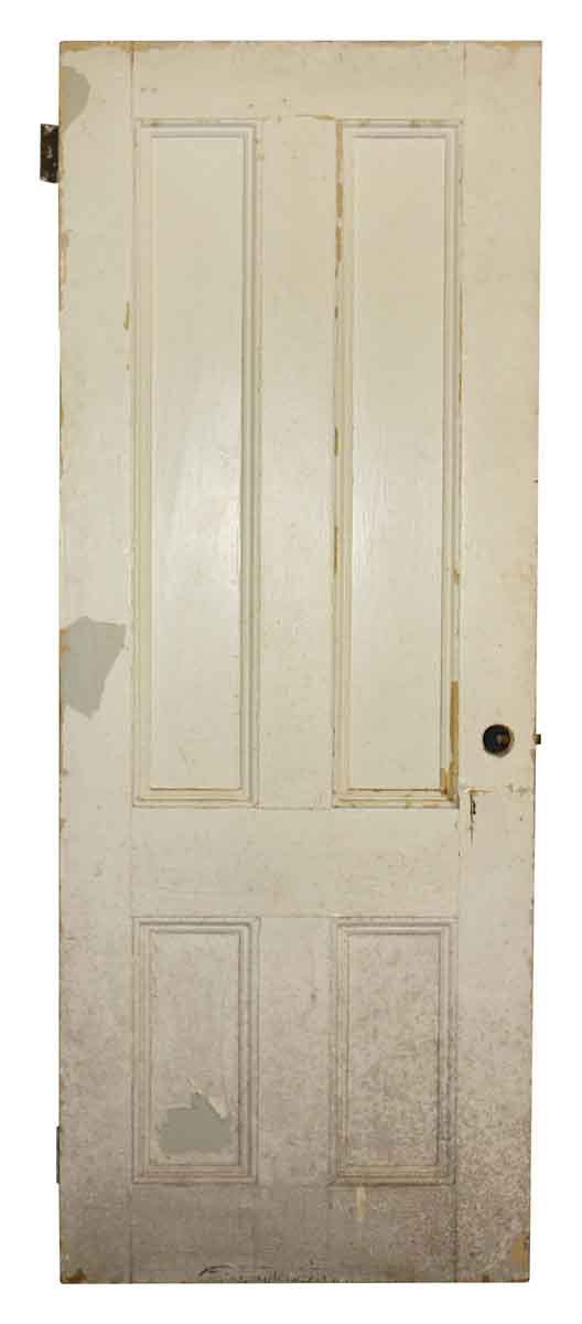 Standard Doors - Antique 4 Pane Wood Passage Door 78 x 30