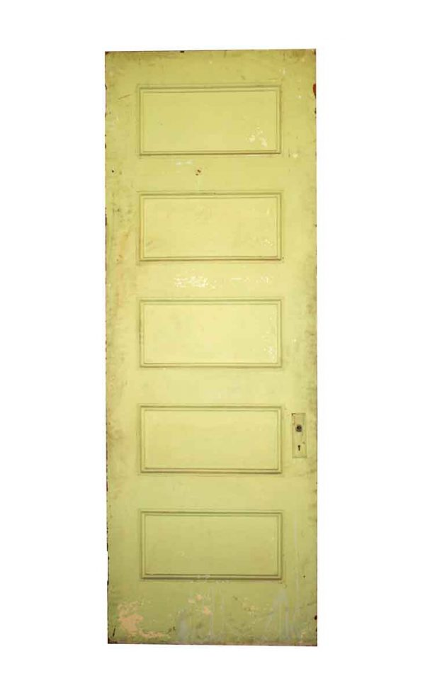 Standard Doors - Antique 5 Pane Wood Passage Door 90 x 31.75