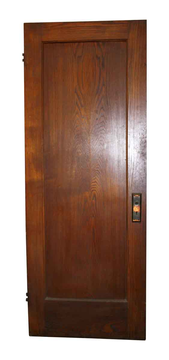 Standard Doors - Antique Single Pane Wood Passage Door 78.25 x 30