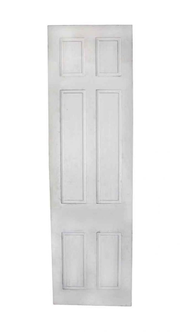 Standard Doors - Vintage 6 Pane White Wood Passage Door 95.5 x 23
