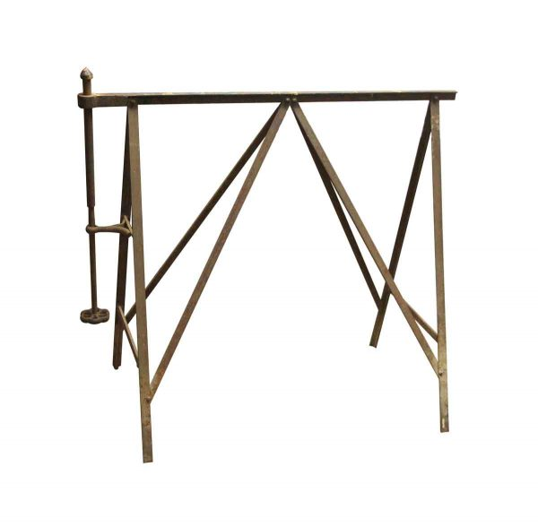 Tools - Pair of Vintage Iron Sawhorses