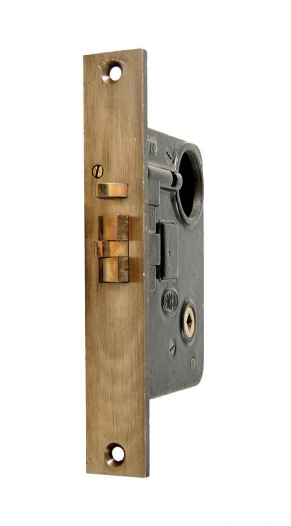 Door Locks - Olde New Stock Corbin Cylinder Entry Mortise Lock with Passage Lock