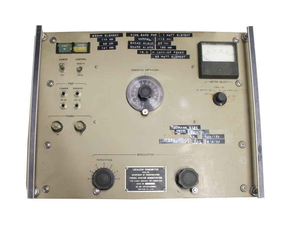 Electronics - Federal Aviation Localizer Transmitter