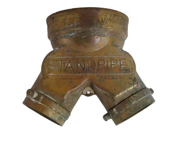 Fire Safety - Bronze New York City Fire Hose Y Coupling