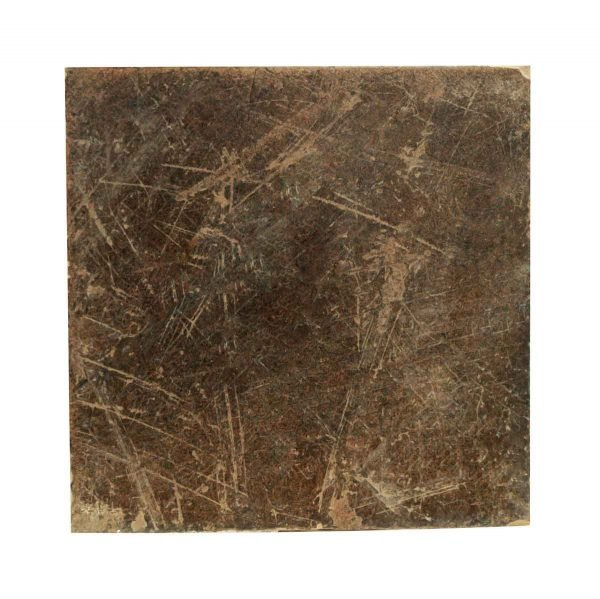 Floor Tiles - Antique Dark Gray Brown Matte Floor Tile 6 x 6