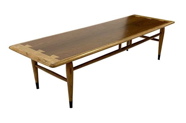 Living Room - 1960s Lane 56 in. Hickory & Walnut Coffee Table