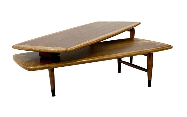 Living Room - 1960s Lane Acclaim Two Piece Switchblade Coffee Table