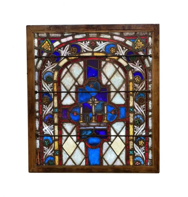 Stained Glass - 19th Century German Ecclesiastical Stained Glass Window