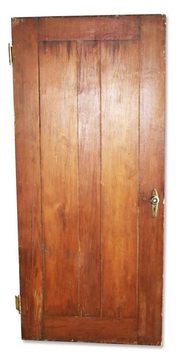 Standard Doors - Antique 2 Pane Wood Passage Door 75.5 x 33.75