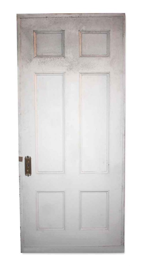 Standard Doors - Antique 6 Pane Wood Framed Passage Door 90 x 40.25