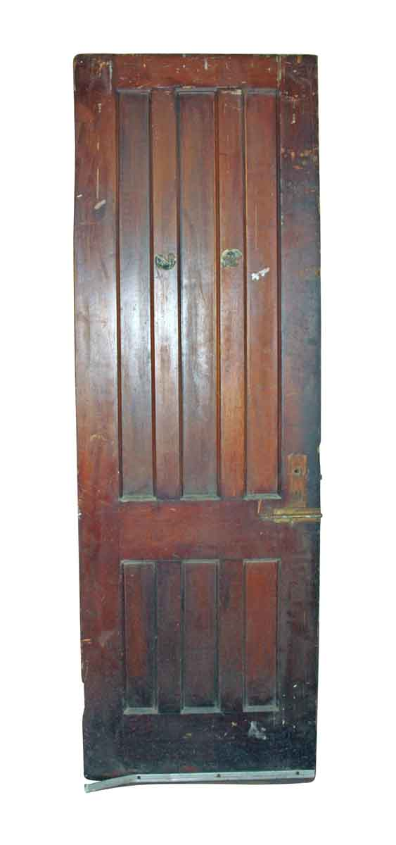 Standard Doors - Antique 6 Pane Wood Passage Door 77.25 x 24