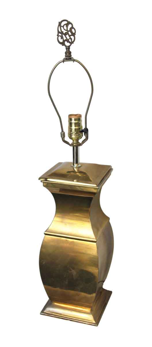 Table Lamps - Vintage Traditional Brass Table Lamp