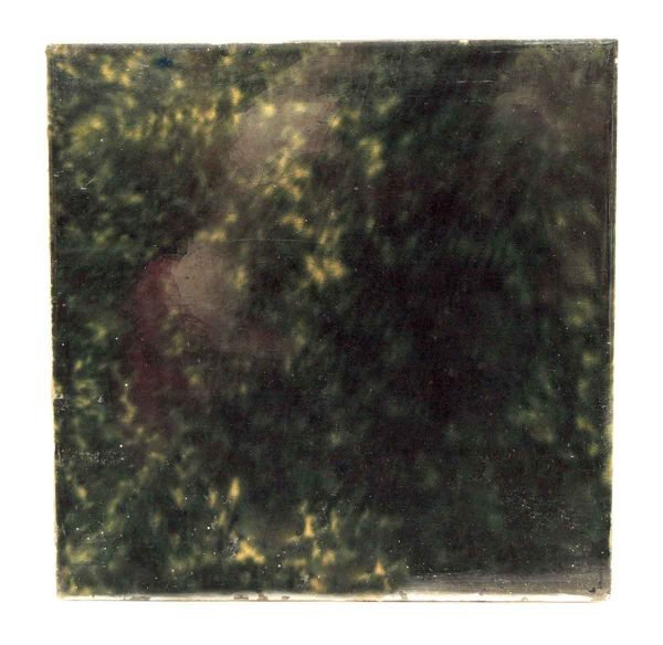 Wall Tiles - Vintage Dark Green Ceramic Wall Tile 6 x 6