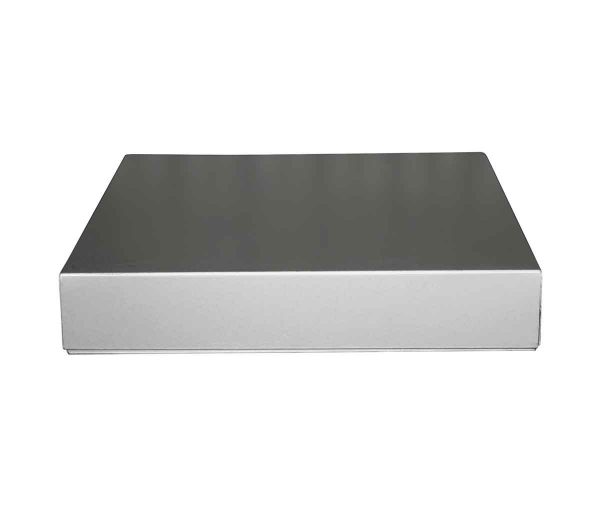 Flea Market - Aluminum Flat Legal Size 14.75 x 11.75 Metal File Box