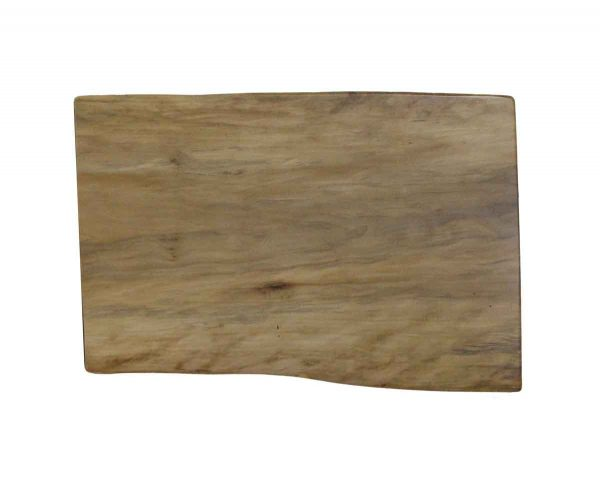Floor Model Tables - Handmade 2.9 ft Natural Stain Sycamore Live Edge Tabletop