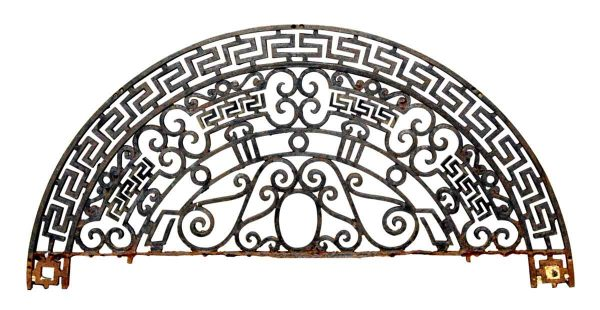 Gates - Salvaged 4.3 ft Greek Key Doorway Gate Arch