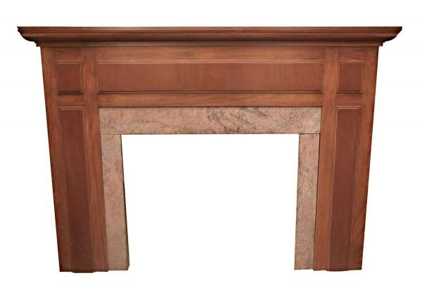Mantels - Vintage Classic Mantel with Marble Detail