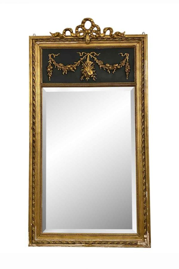 Overmantels & Mirrors - 19th Century French Trumeau Mirror