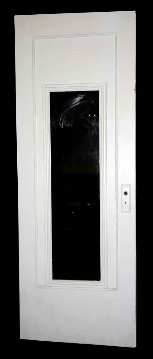 Closet Doors - Antique Beaded Mirror Pane Wood Closet Door 82 x 30.5