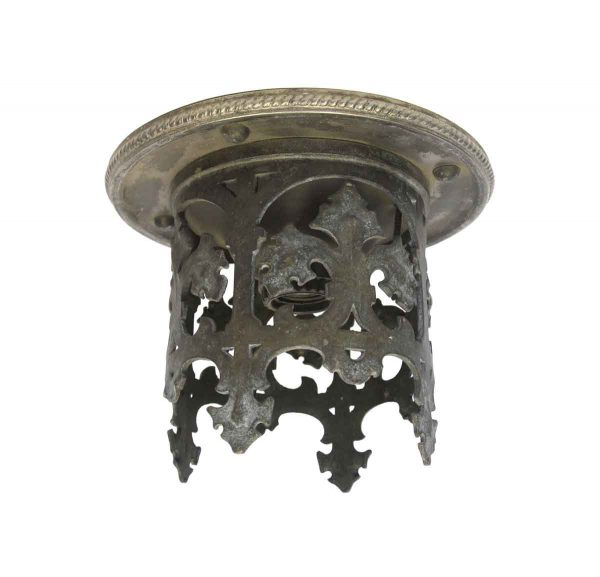 Flush & Semi Flush Mounts - Antique Bronze Gothic Flush Mount Light