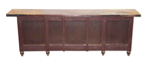 Heating Elements - Reclaimed Painted Metal Radiator Cover