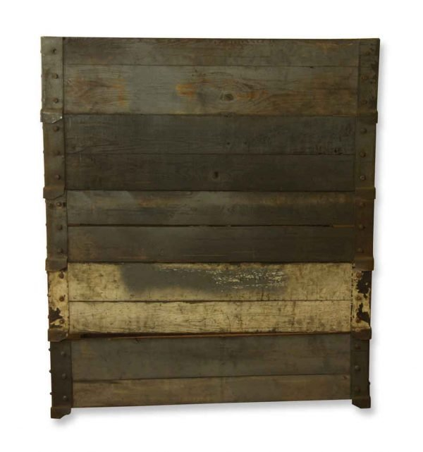 Industrial - Industrial 49.5 in. Wooden Crate Frame
