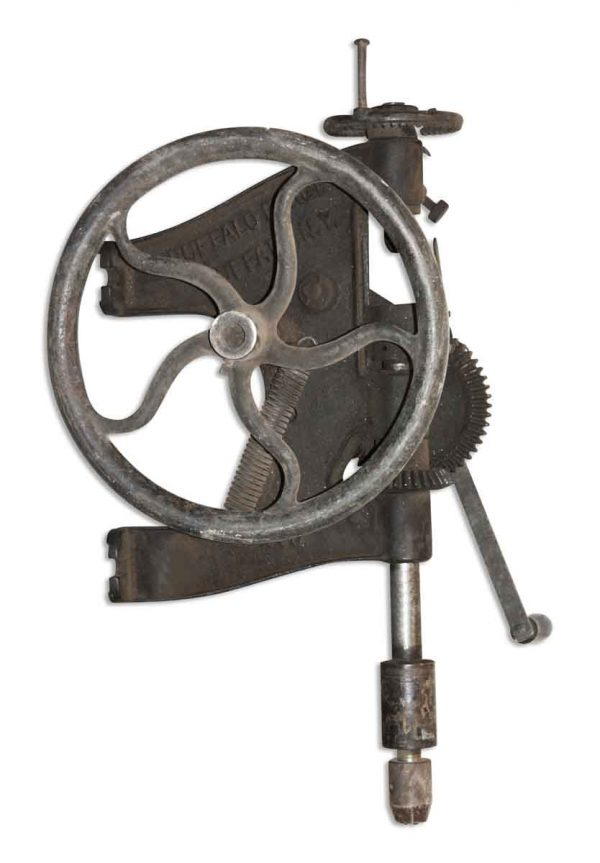 Industrial - Vintage Industrial Buffalo Forge Co. Iron Drill