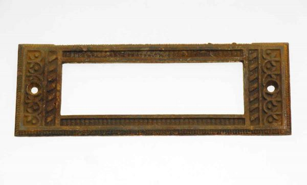 Other Cabinet Hardware - Antique Victorian Bronze Drawer Label Slots