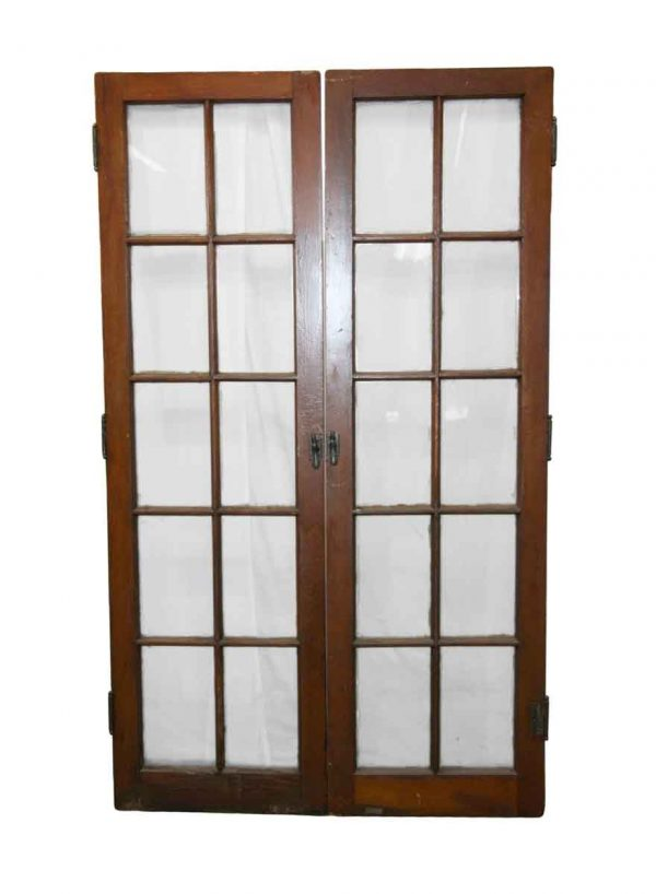 Reclaimed Windows - Antique 10 Lite French Double Windows 67.375 x 39.75