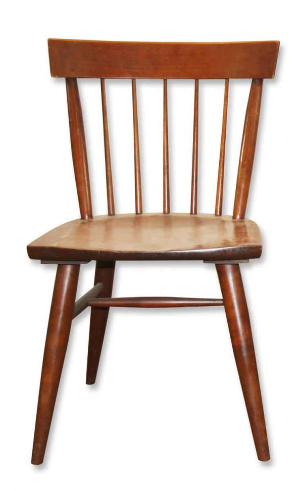 Seating - Mid Century Medium Tone Wood Dining Chair