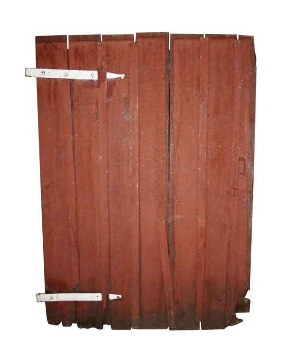 Specialty Doors - Salvaged Rustic Wooden Barn Door 75.5 x 53.5