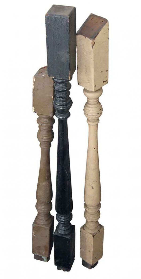 Staircase Elements - Antique Traditional 30.625 in. Wood Staircase Spindles