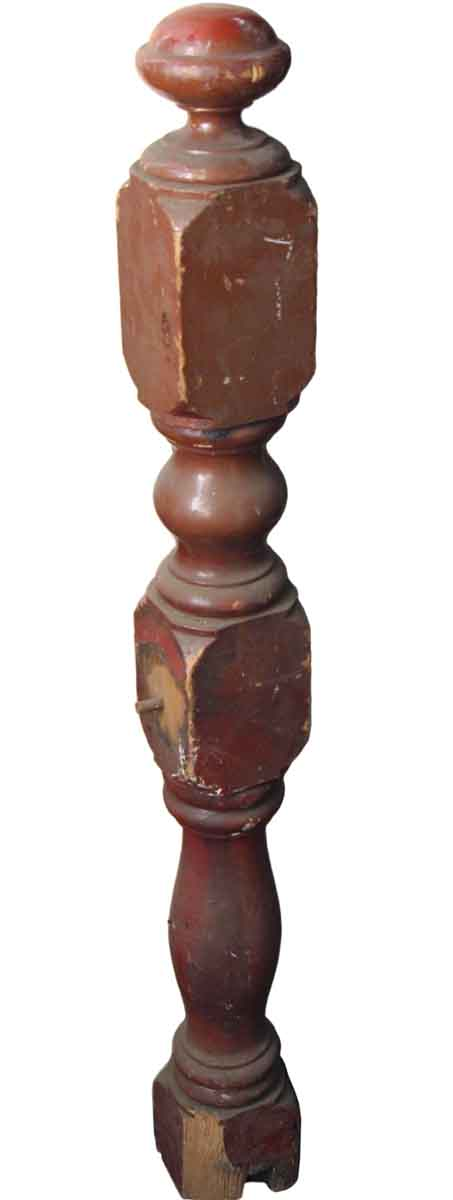 Staircase Elements - Antique Traditional 39 in. Wooden Newel Post