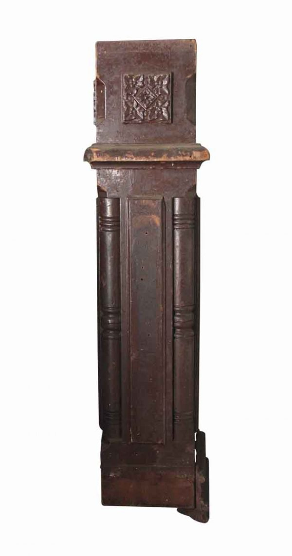 Staircase Elements - Antique Victorian Wood 33.25 in. Staircase Newel Post