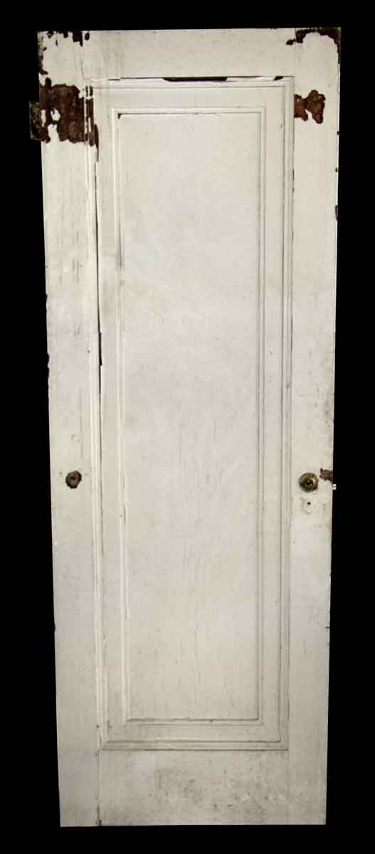 Standard Doors - Antique 1 Pane White Wood Passage Door 79 x 28