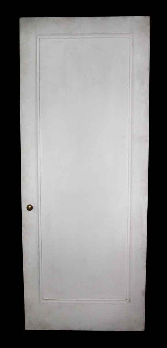 Standard Doors - Antique 1 Pane White Wood Passage Door 89.5 x 35.75