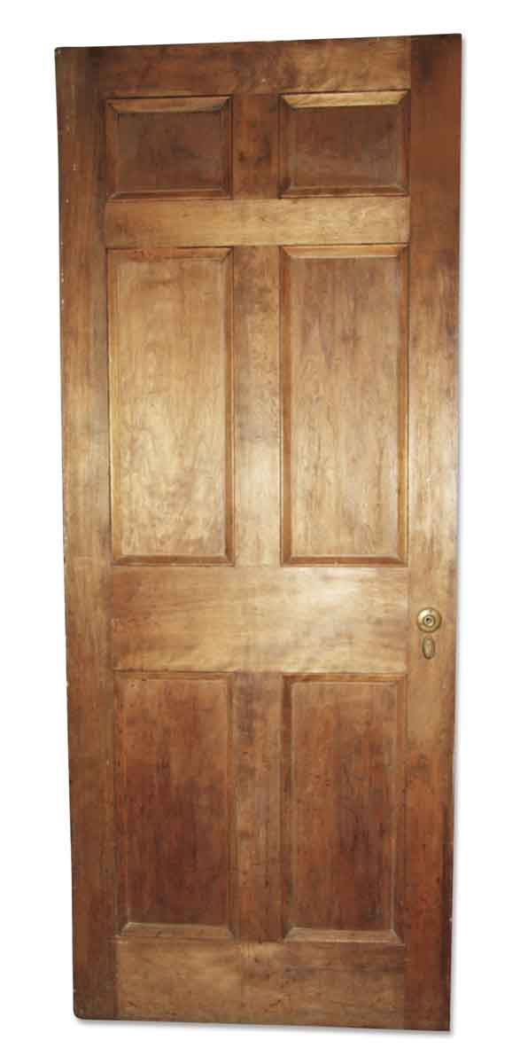 Standard Doors - Antique 6 & 1 Pane Wood Privacy Door 89.25 x 35.625