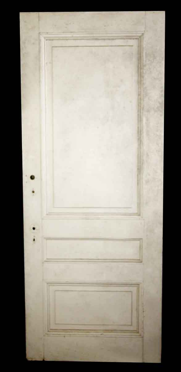 Standard Doors - Vintage 3 Pane Wood Privacy Door 89.75 x 35.375