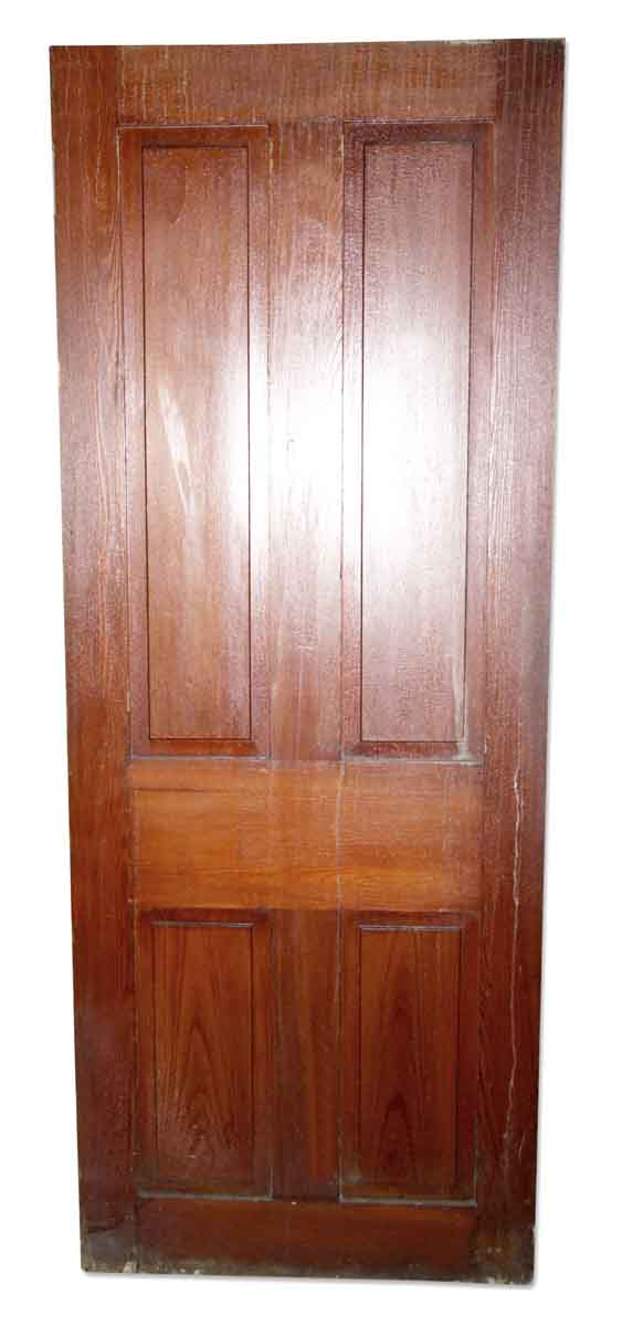Standard Doors - Vintage 4 Pane Wood Passage Door 80.25 x 31.125