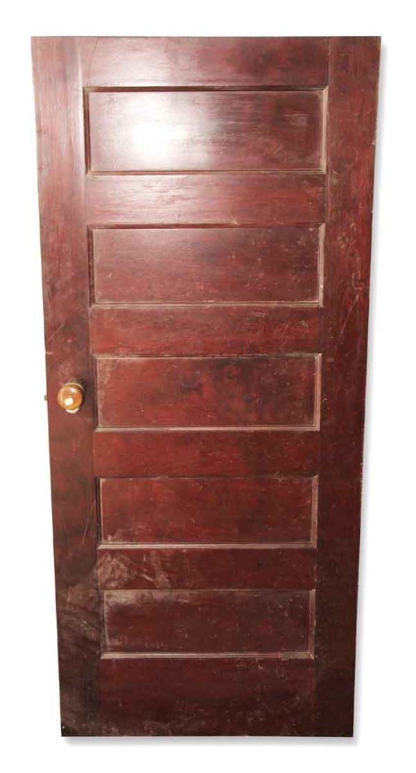 Standard Doors - Vintage 5 Pane Wood Passage Door 67.5 x 29.75