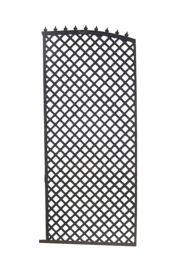Gates - Salvaged Woven Iron Brooklyn Brownstone Gate 87.25 in. H