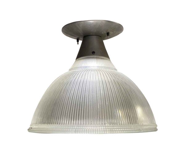 Industrial & Commercial - 1940s 16 in. Holophane Flush Mount Kitchen Fixture