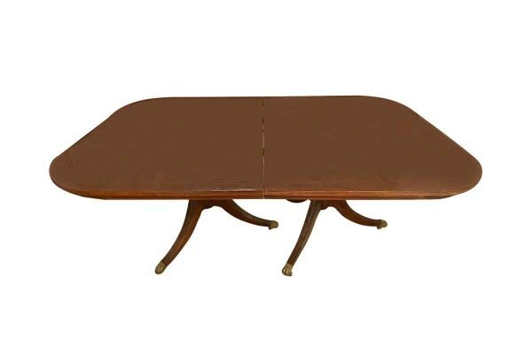 Kitchen & Dining - Duncan Phyfe Style 12 ft Walnut Dining Room Table