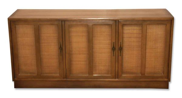 Living Room - Antique 1950s Wood Console Cabinet