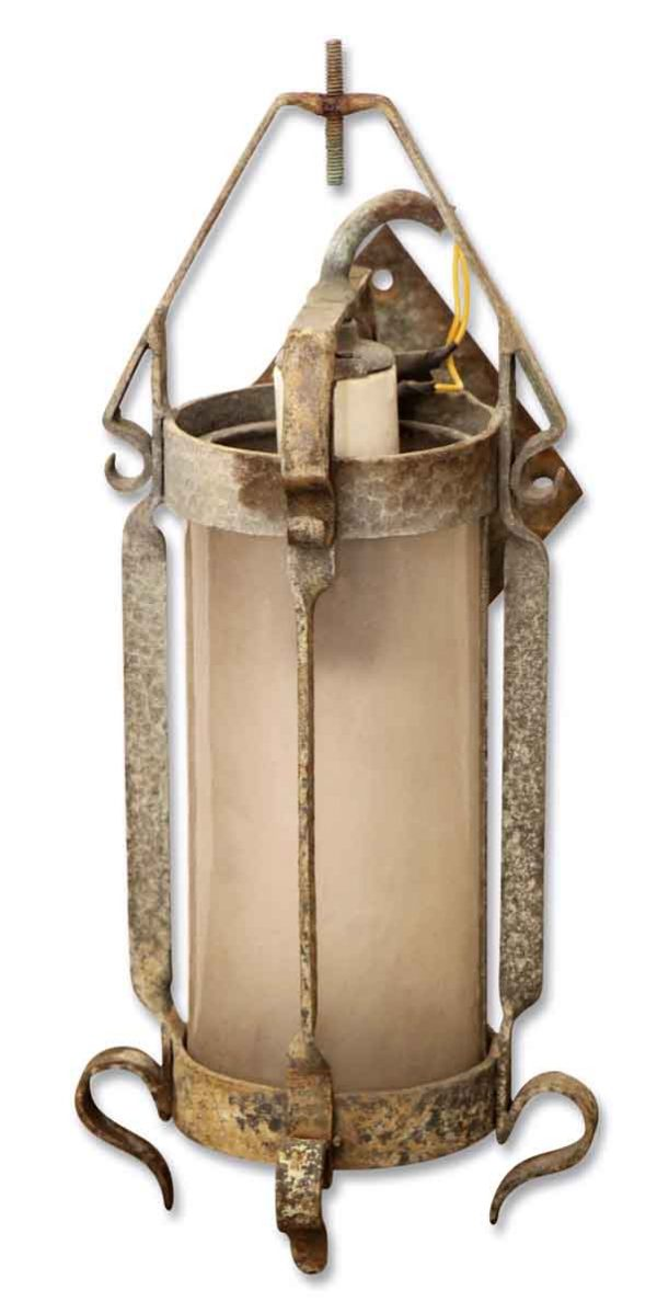 Wall & Ceiling Lanterns - Antique Gothic Lantern with Hand Hammered Metal