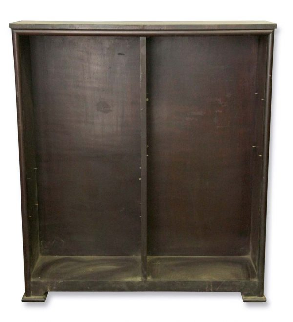 Bookcases - Antique Traditional 4 ft Dark Wooden Bookcase