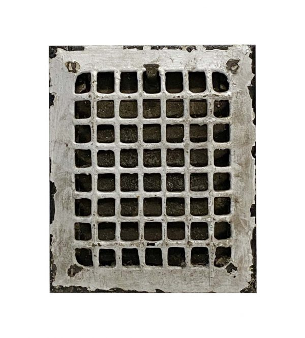 Heating Elements - Early 20th Century 11.625 in. Steel Heater Grate