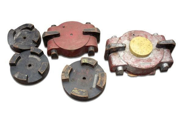 Industrial Molds - Set of Five Industrial Wood Molds