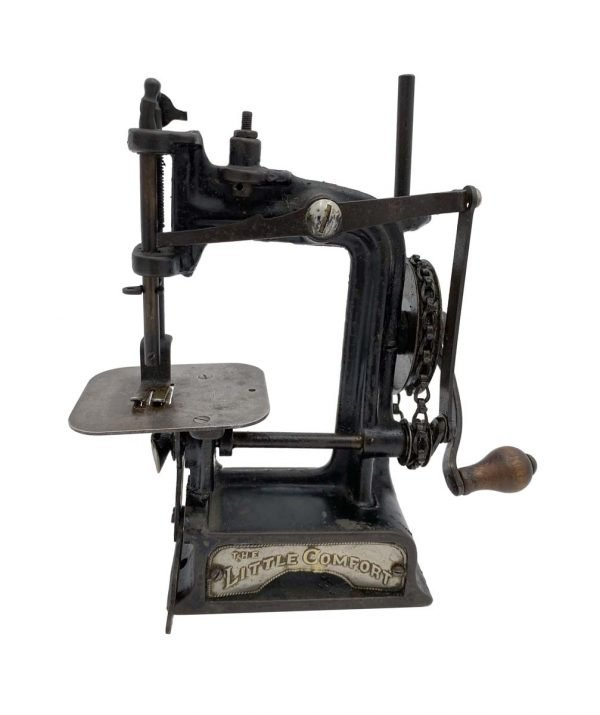 Sewing Machines - 1897 Smith & Egge Little Comfort Cast Iron Sewing Machine